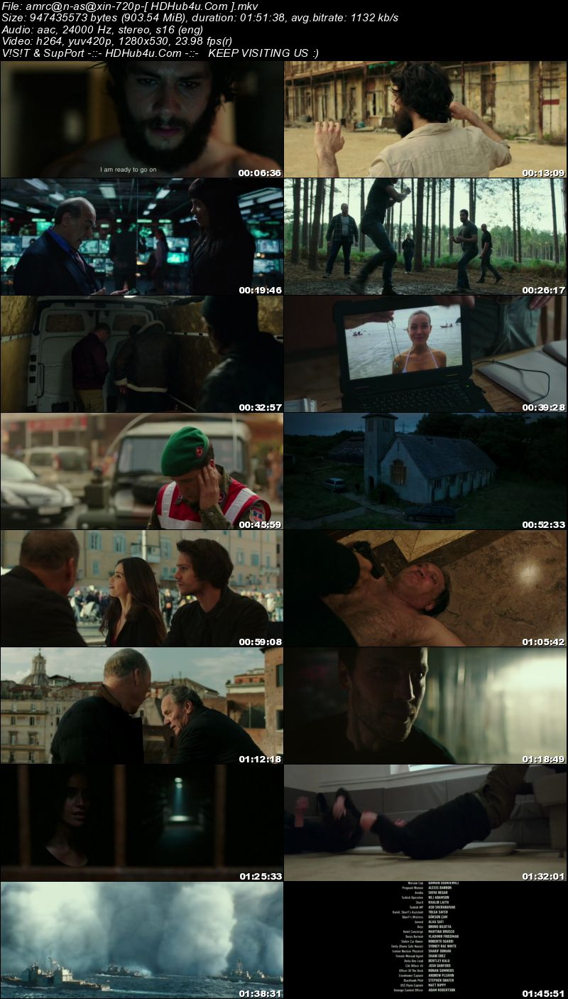 American Assassin 2017 300MB English Movie 480p WEB-DL Download