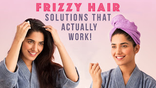 Get Rid of Frizzy Hair in 3 Easy Ways