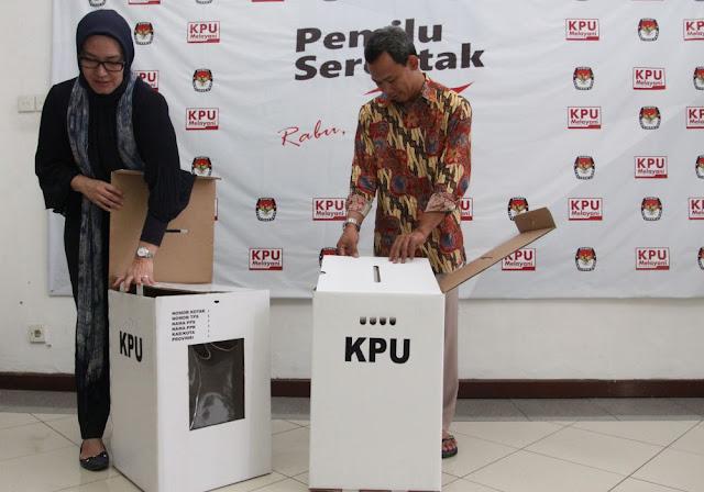 Kotak Suara Pemilu 2019 dari 'Kardus', ini Duduk Persoalan yang Diungkapkan KPU