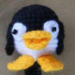 patron gratis pingüino amigurumi | free pattern amigurumi penguin