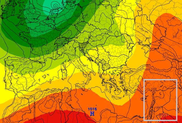 إعتباراً من السبت حتى 5 أيام على الأقل كتلة حارة و جافة ستلامس فيها الحرارة 39 إلى 40 وفي التفاصيل ..