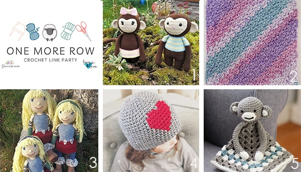 One More Row - Free Crochet Link Party #28