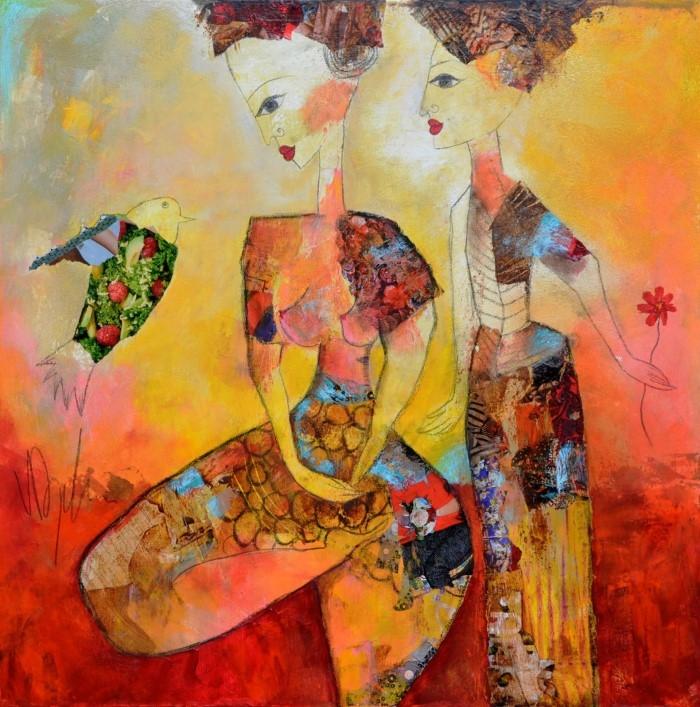 Алжирский художник. Valerie Depadova