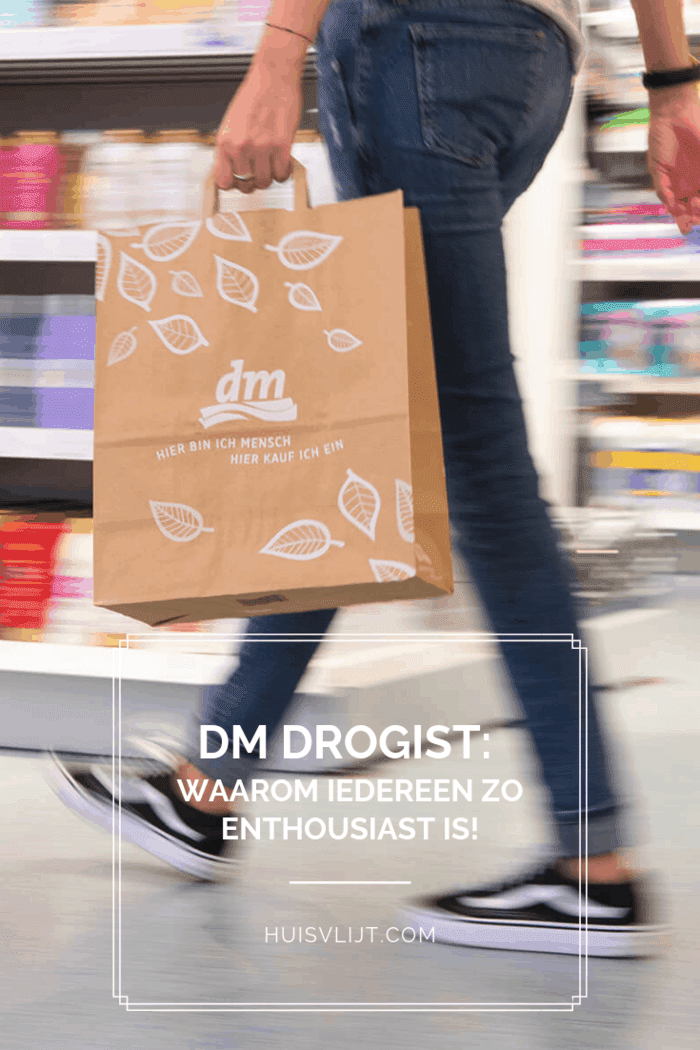 Budget tip: DM Drogist!