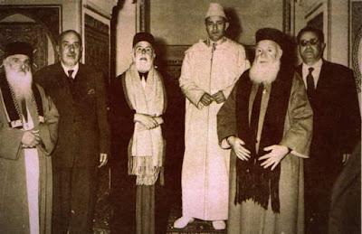 إسرائيل تشكر الملك الراحل محمد الخامس طيب الله ثراه