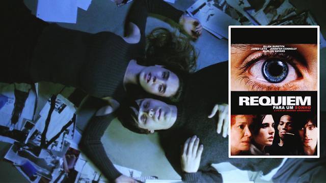 filmes perturbadores, filmes chocantes, filmes macabros, filmes bizarros, filmes sobre drogas, requiem for a dream, requiem para um sonho