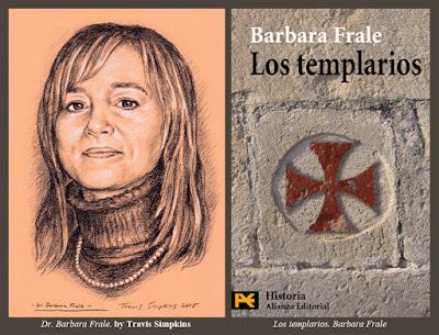 Barbara Frale. by Travis Simpkins. Los templarios. Vatican Secret Archives
