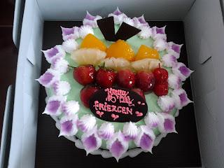 Kue ulang tahun Epi Friezta Dewi Hasibuan