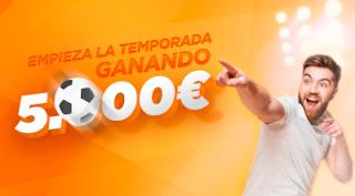 Kirolbet empieza la temporada ganando 5000€