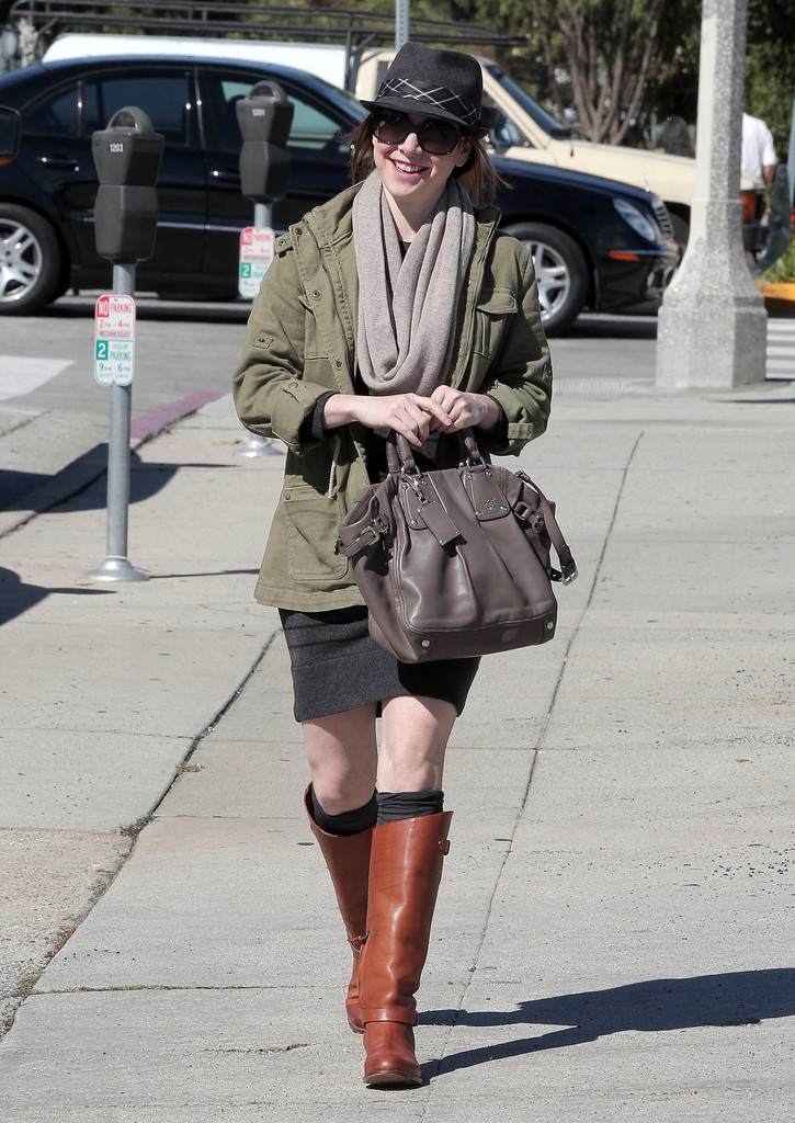 Boot Nation Celebrity Boot Month Red Head Alyson Hannigan