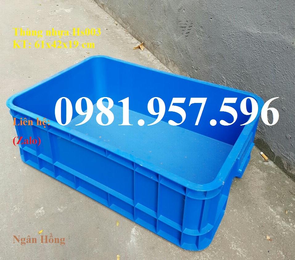 Thùng nhựa  đặc, sóng nhựa Bít, thùng nhựa đặc 1T9, Sóng Bít Hs003