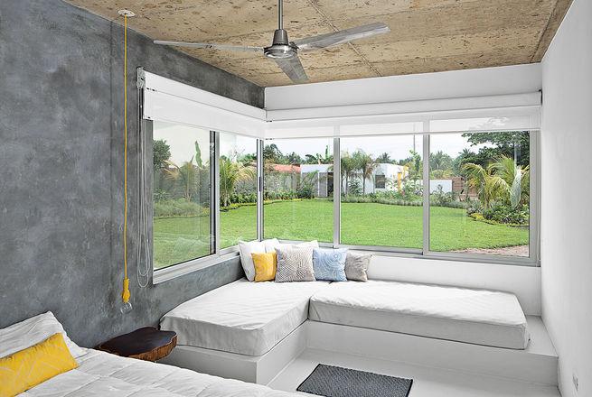 casa de playa abierta y contemporánea chicanddeco