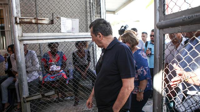 Καταγγελία από την Μυτιλήνη: Μας κοροϊδεύει ο Χρυσοχοϊδης