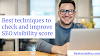 How to check, improve SEO Visibility score-Best SEO Idea