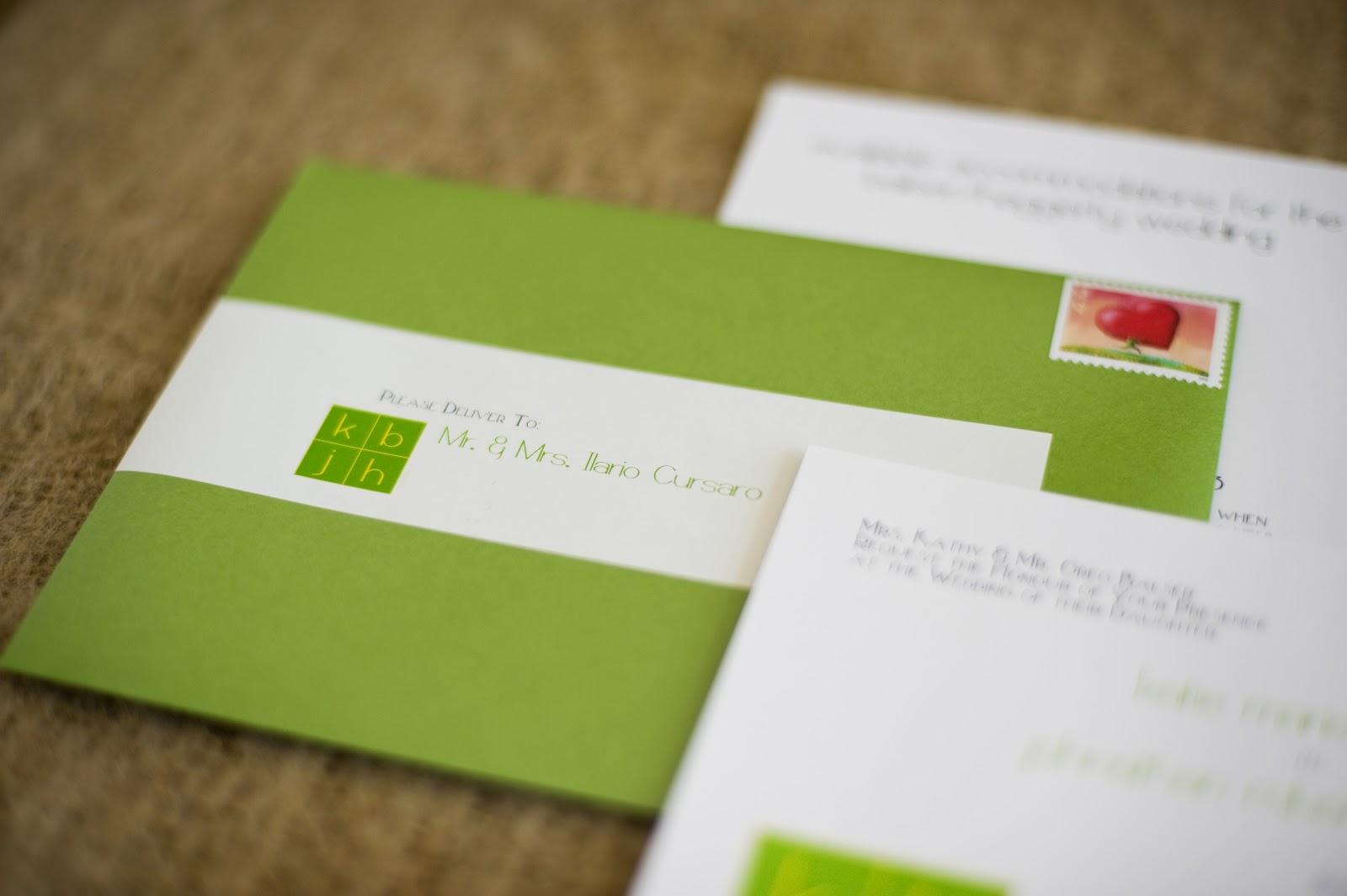 Wedding Invitation Mailing Labels: Baci Designer: Wedding Wednesday