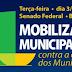 CNM convoca gestores para mobilização no dia 3 de dezembro