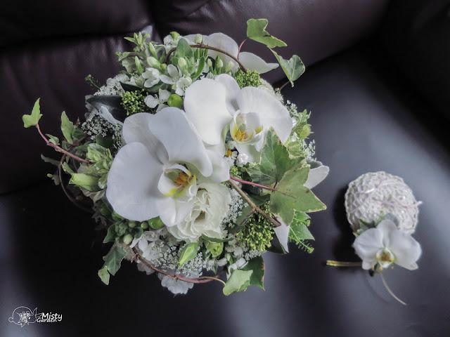 蝴蝶蘭新娘花球