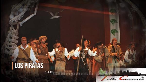 """Pasodoble con Letra """"Era un cuatro de Diciembre"""". Comparsa """"Los Piratas"""" (1998)"""