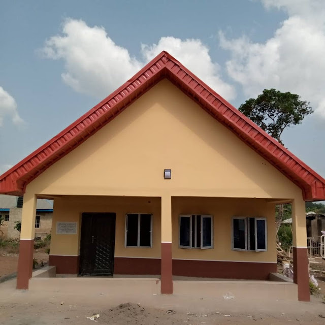 Check Out Photos Of The Hospital Akin Alabi Built That Is Currently Trending On Twitter