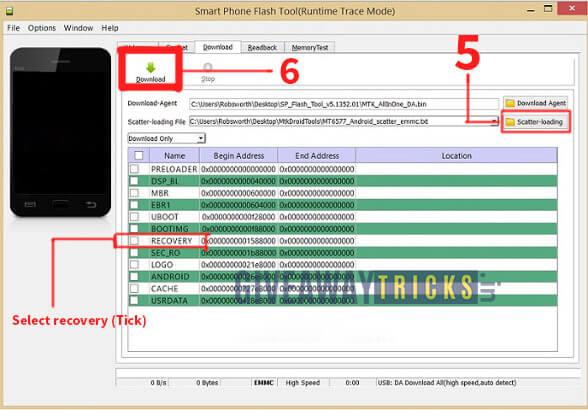 تثبيت الريكوفري TWRP على هاتف Infinix Hot 5 Lite