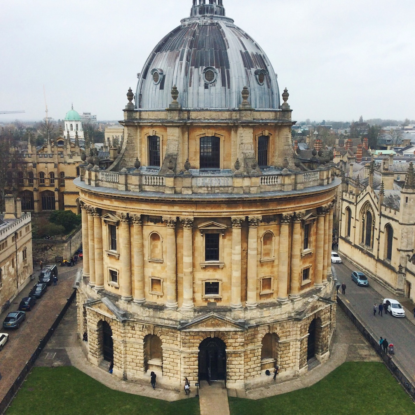 the Radcliffe camera, an iconic Oxford site and a student library