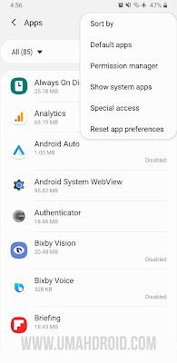 Buka Setting Aplikasi Android