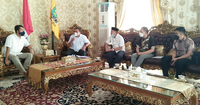 Kepala BPN Sinjai Bareng Bupati ASA Bahas Aset Pemda di Rujab