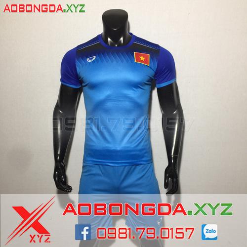 Áo Đội Tuyển Việt Nam 2020 Training Màu Xanh