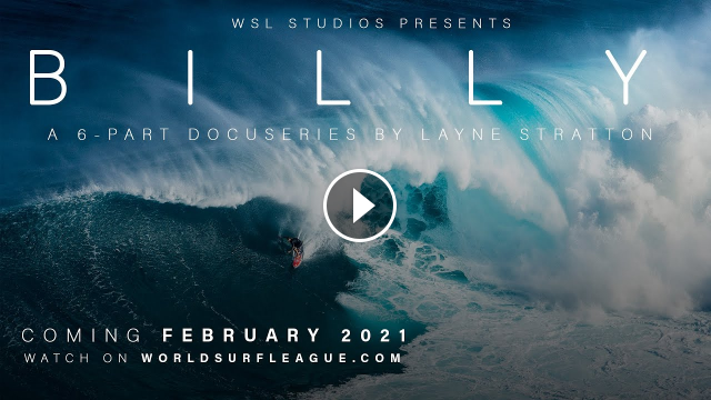 BILLY - Official Trailer Starring WSL Big Wave Surfing World Champion Billy Kemper