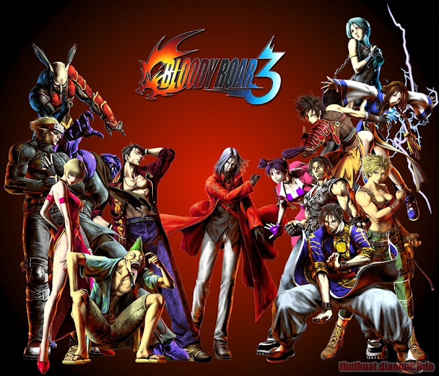 Download Game Bloody Roar 3 Full Crack