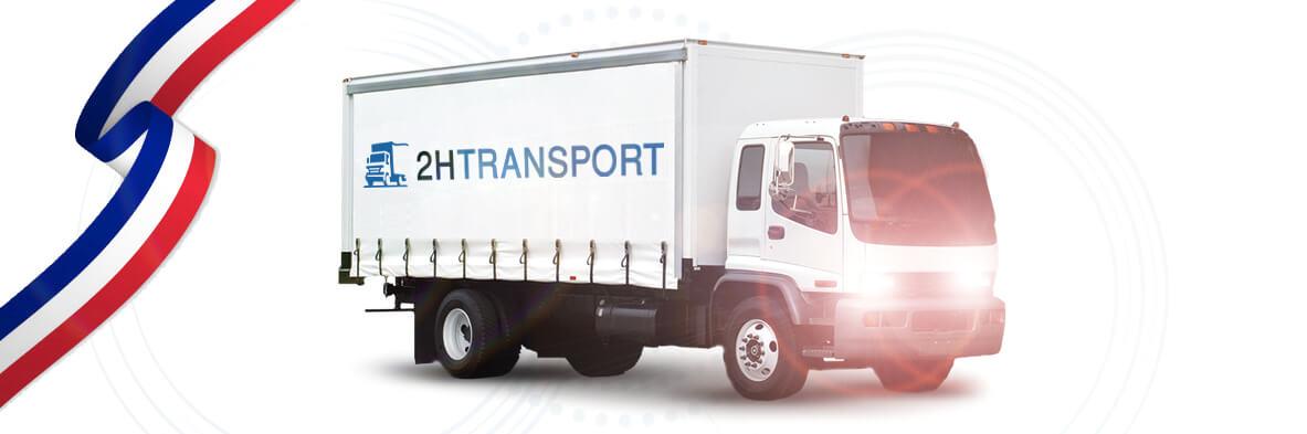 Transporteur camion paris idf