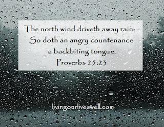 Proverbs 25:23