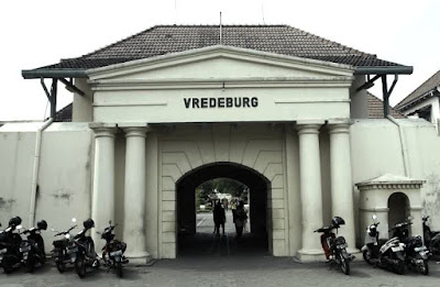 Fort Vredeburg are base of the Dutch protection