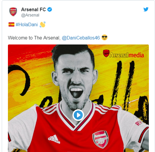 OFFICIAL: Arsenal complete second summer signing