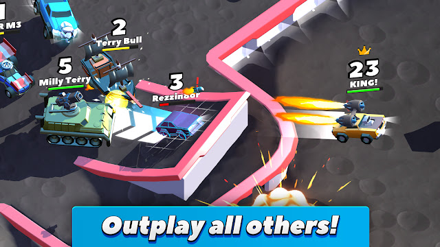 العاب مهكرة,تحميل لعبة تحطيم السيارات Crash of Cars مهكرة كاملة للاندرويد,العاب اندرويد,العاب سباق