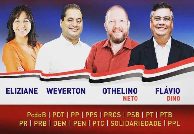 Partidos coligados em torno de candidatura comunista receberam R$ 223,13 milhões (propinas) de empresas relacionadas na Lava Jato