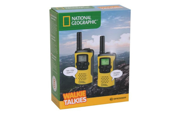 Walkie Talkies - National Geographic  by Wicked Uncle