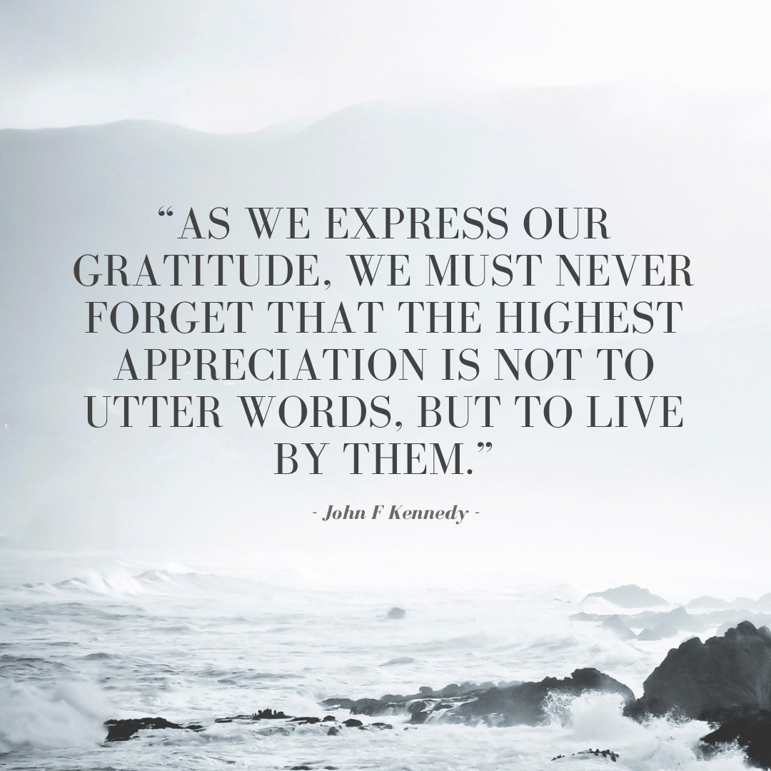 Be Carol Thanksgiving Gratitude Quote 3