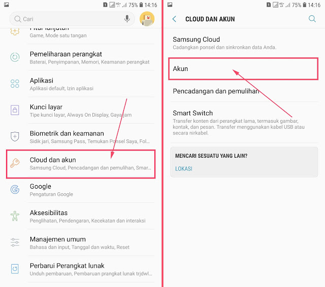 Cara Menambah Akun Gmail di HP Android Samsung 15