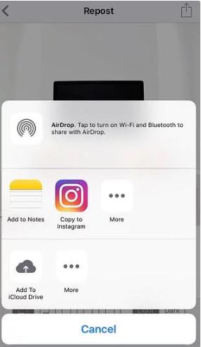 Cara Repost Foto dan Video di Instagram Beserta Captionnya 7