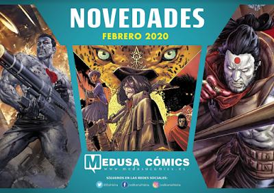 Novedades enero 2020 de Medusa Cómics.