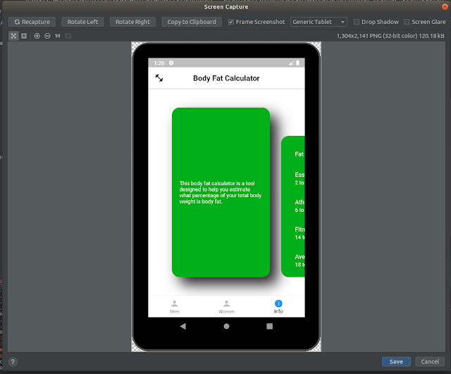 Generic Tablet Device Frame