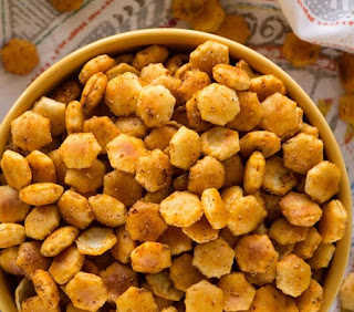 Taco Oyster Crackers Recipe #appetizer