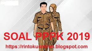 Soal PPPK 2019