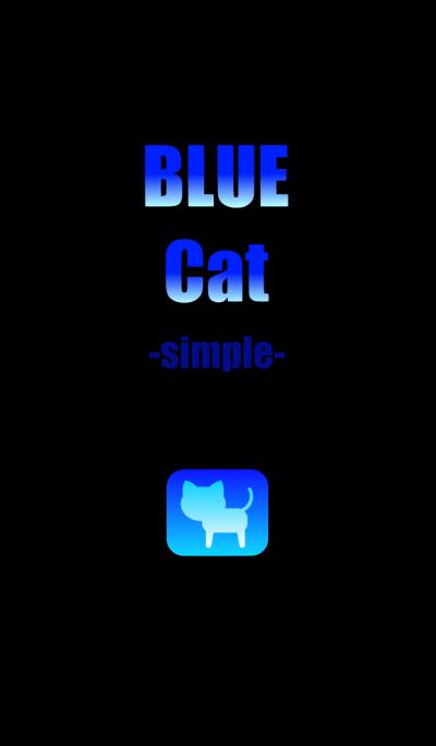 BLUE Cat simple