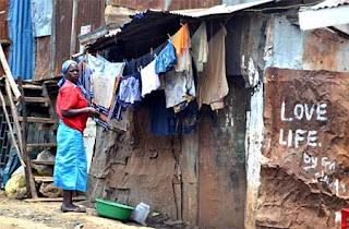 The majority of Africa's 400 million city-dwellers live in slums