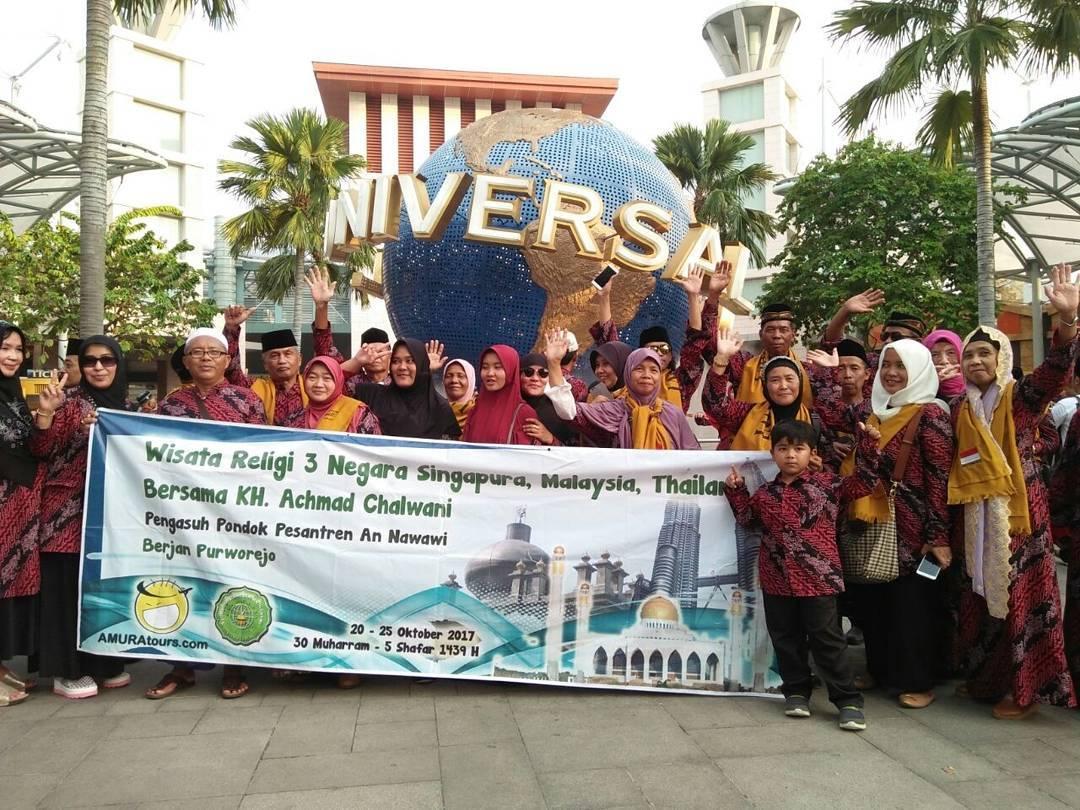 An-Nawawi Berjan Ziarah Makam Ulama Nusantara di Tiga Negara