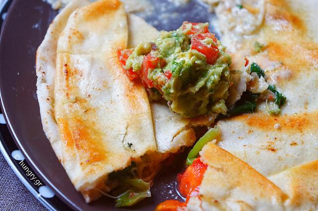 Quesadillas, Guacamole &…Tequila