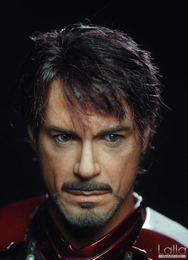 "Tony Stark - Iron Man undersuit (deleted scene, ""Iron Man ...  |Tony Stark Iron Man 2 Hair"