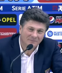 Walter Mazzarri, the manager who won a Champions League place for Napoli